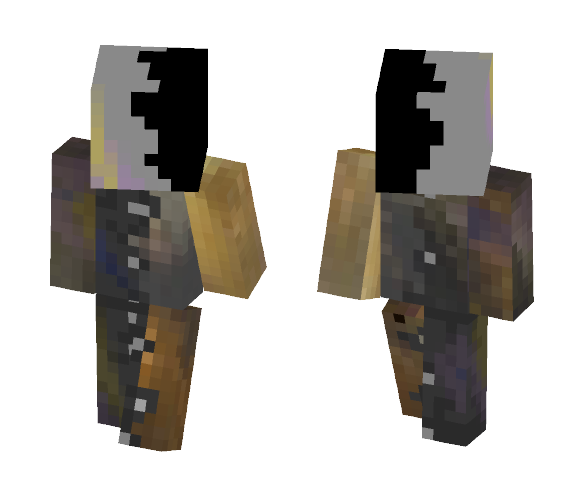 Duo White/Yellow nebula - Other Minecraft Skins - image 1