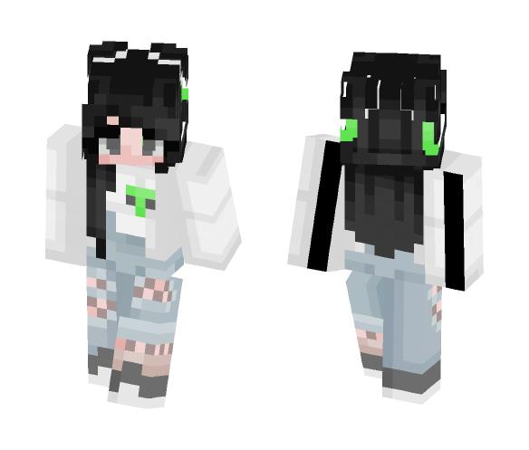 alien :P - Female Minecraft Skins - image 1
