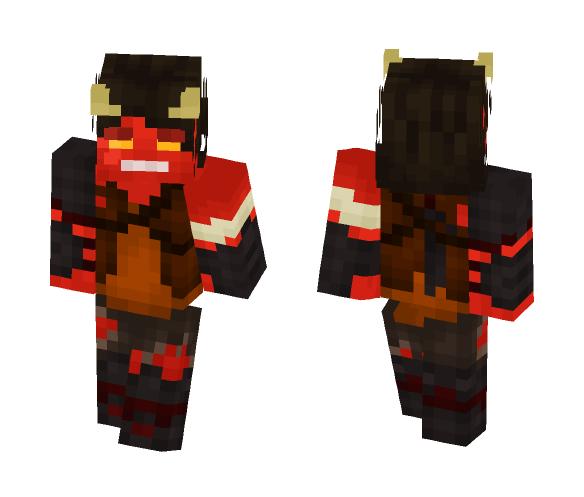 Nether survivor - Male Minecraft Skins - image 1