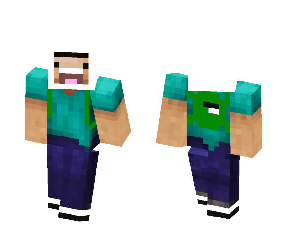 Finn (From Adventure Time) - Male Minecraft Skins - image 1