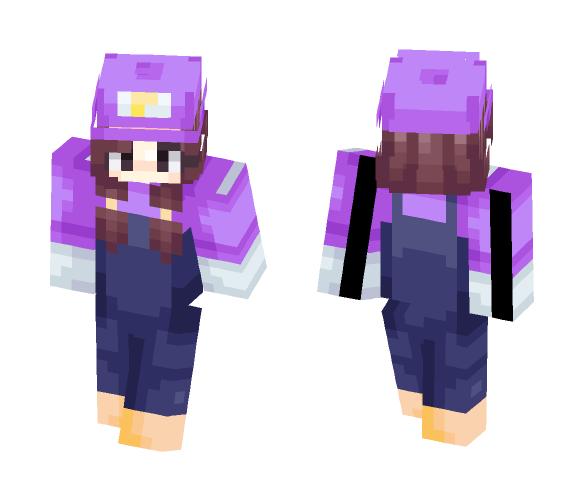 Waluigi - Female Minecraft Skins - image 1