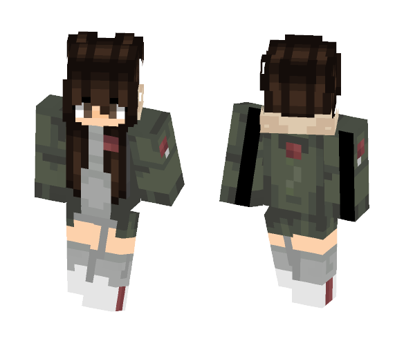 Casual - Female Minecraft Skins - image 1