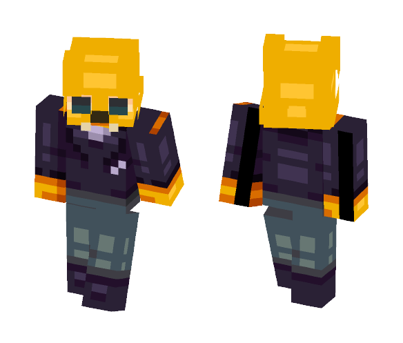 Gregg -- ヅ Night in the Woods ヅ - Male Minecraft Skins - image 1