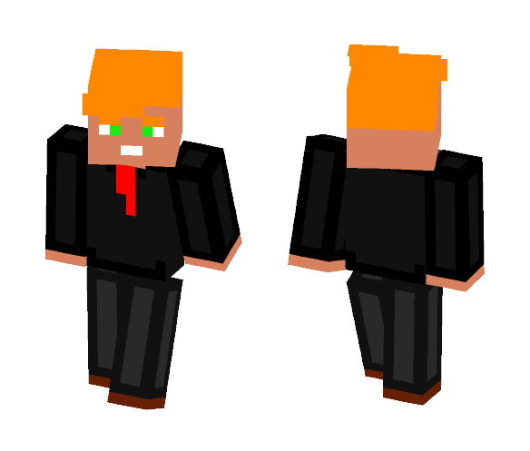 Cartoon Donald Trump Skin - Male Minecraft Skins - image 1