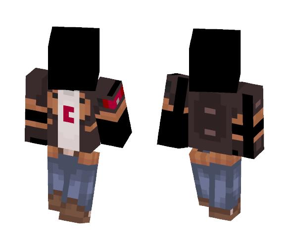 -[Random Clothes]- jacket n' glove - Other Minecraft Skins - image 1