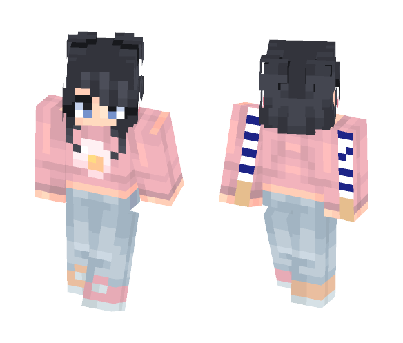 as per usual - Female Minecraft Skins - image 1