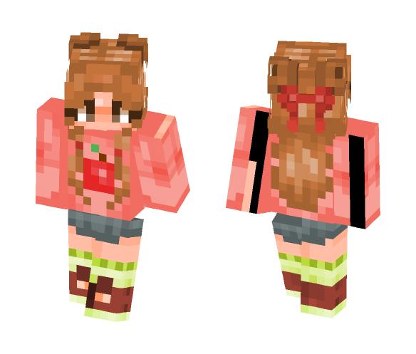 Apple Pinkeu ~! - Female Minecraft Skins - image 1
