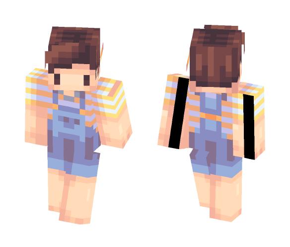 Boy with Pencil - Boy Minecraft Skins - image 1