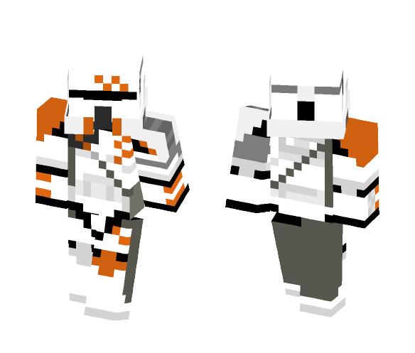 212th Airborne Trooper - Male Minecraft Skins - image 1