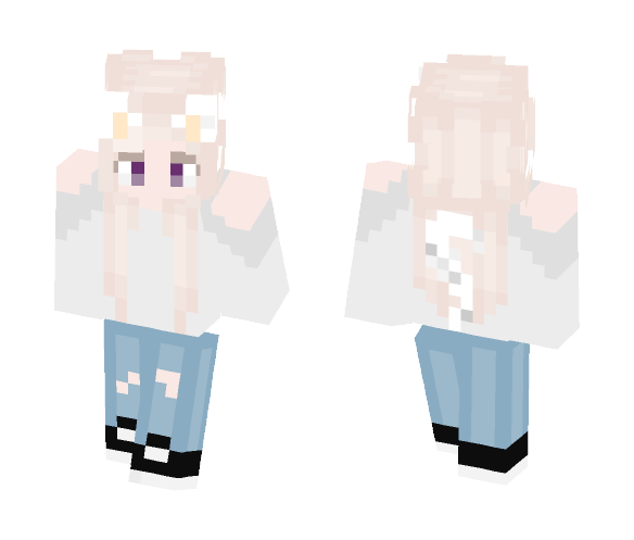 June Outfit - Female Minecraft Skins - image 1