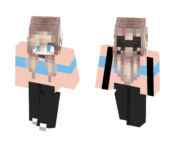 Blonde Girl - Female Minecraft Skins - image 1