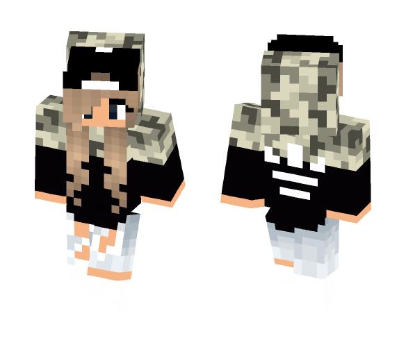 Detailed Girl Skin - Female Minecraft Skins - image 1