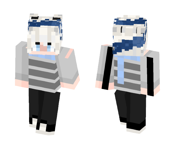 FrayFries (m frens new skin c;) - Male Minecraft Skins - image 1
