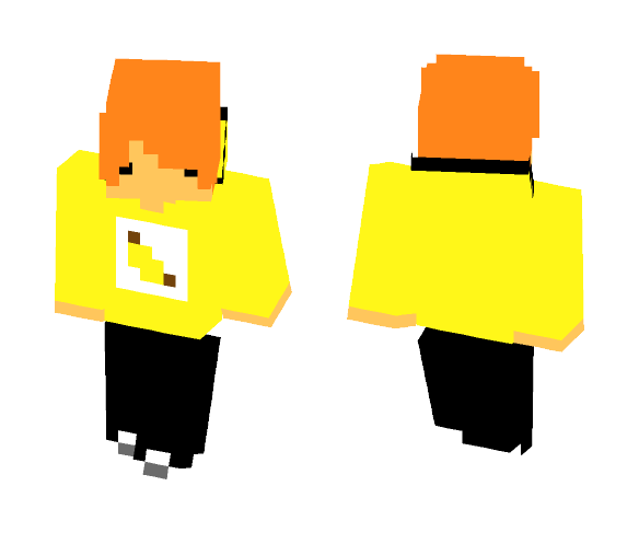 Chibbi Banana - Male Minecraft Skins - image 1