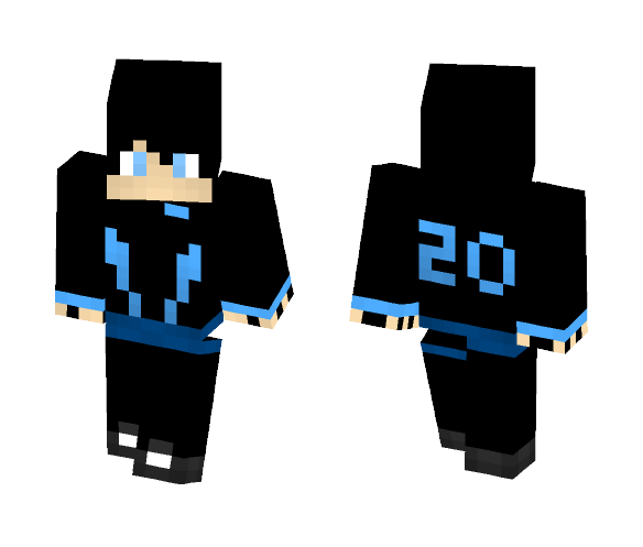 Human Jackson Storm - Male Minecraft Skins - image 1