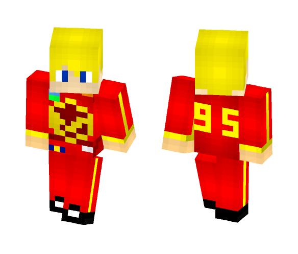 Human Lightning McQueen - Male Minecraft Skins - image 1