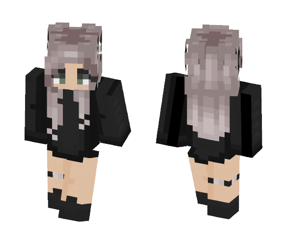 i woRked hArD oN thIS pLS lOl - Female Minecraft Skins - image 1