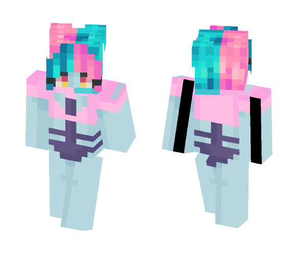 Cute alien ❦ - Female Minecraft Skins - image 1