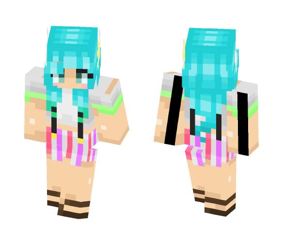 ⭐ - Seafoam - ⭐ - Female Minecraft Skins - image 1