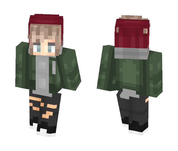 Isak Valtersen from SKAM - Male Minecraft Skins - image 1