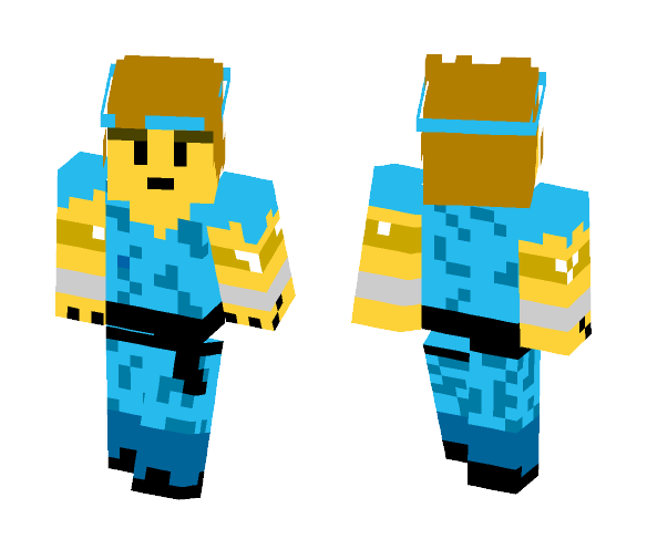 Black Belt--Final Fantasy 1 - Male Minecraft Skins - image 1