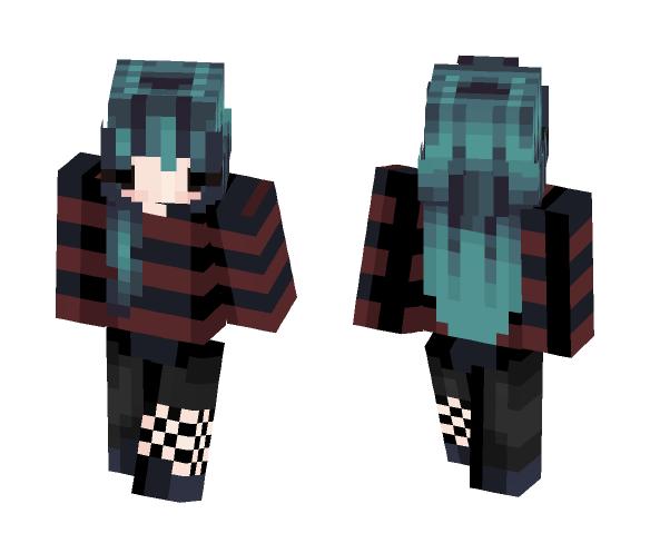 Moon ❤ - Female Minecraft Skins - image 1