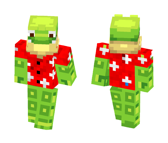 Frogger - Male Minecraft Skins - image 1
