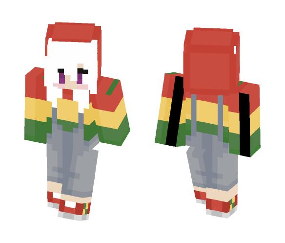 Rasta-Gaufrette - Female Minecraft Skins - image 1