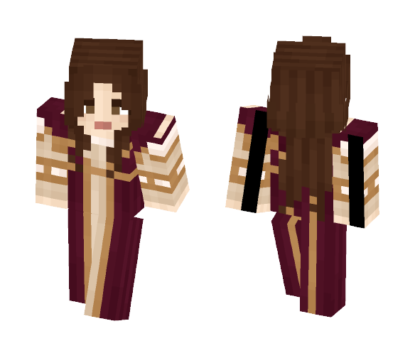 Red Renaissance - Female Minecraft Skins - image 1