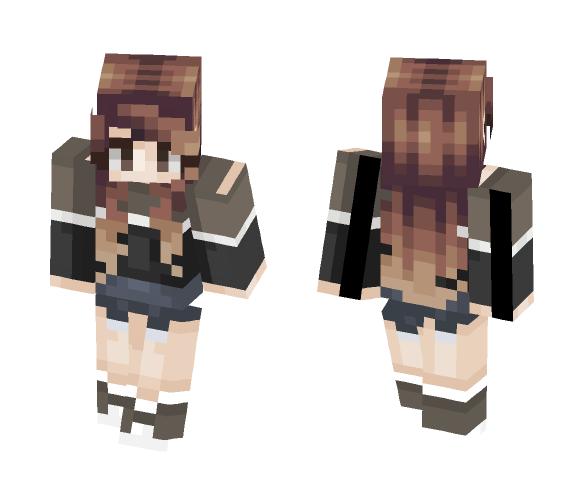 Autumn Girl | ????????????????__ - Girl Minecraft Skins - image 1