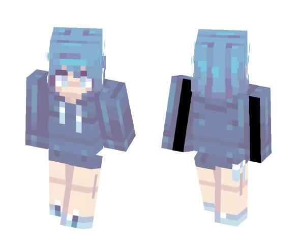 ~海~ Ocean - Female Minecraft Skins - image 1