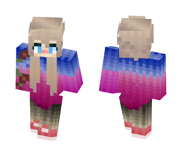 Tiny Cute Girl - Cute Girls Minecraft Skins - image 1