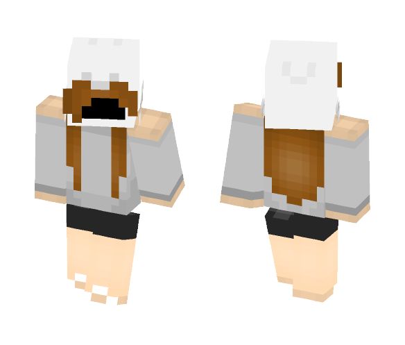 Girl Dominus - Girl Minecraft Skins - image 1