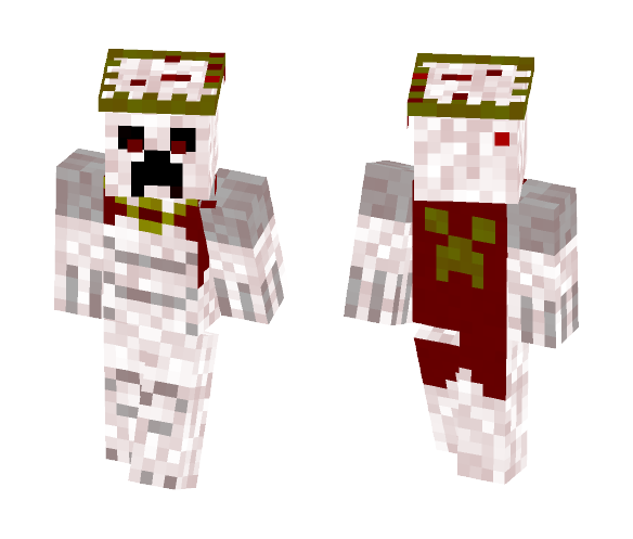 Creeper Blood God - Male Minecraft Skins - image 1