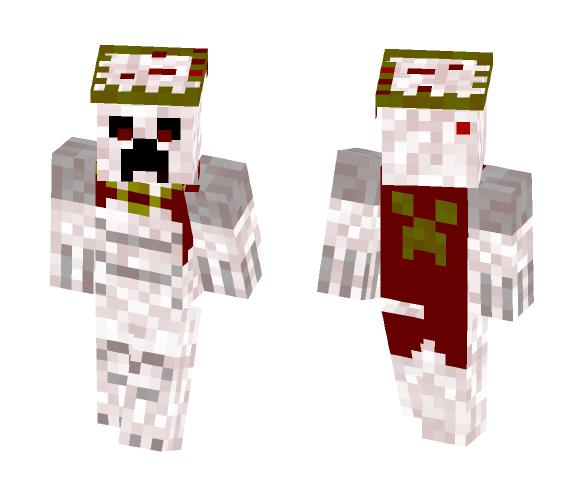 Creeper Blood God - Male Minecraft Skins - image 1