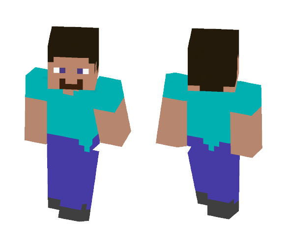 Pixel Steve - Male Minecraft Skins - image 1