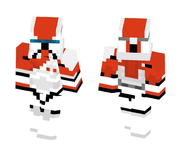 Clone Commando - RC-1138 (Boss) - Male Minecraft Skins - image 1