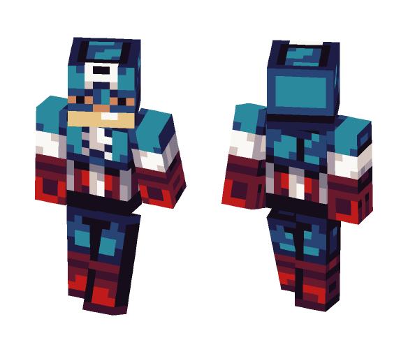 Captian America - Male Minecraft Skins - image 1