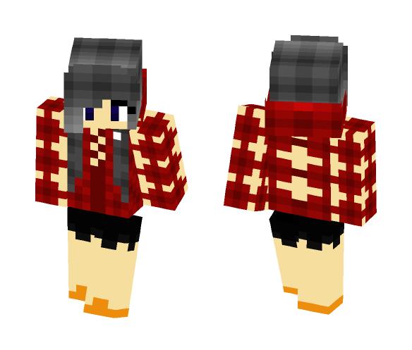 Hoodie_Girl - Female Minecraft Skins - image 1