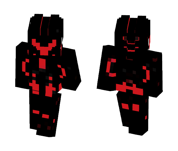 High Tech Suit (Red Edition) - Male Minecraft Skins - image 1