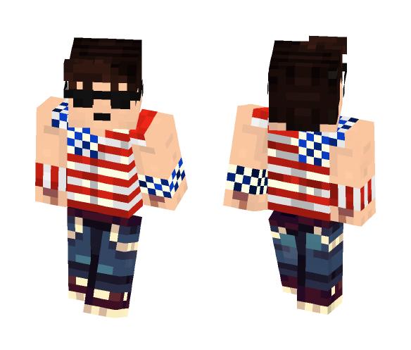 Murica - Male Minecraft Skins - image 1