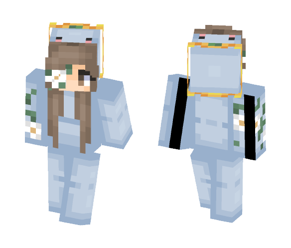 Ocean Blossom♡ - Female Minecraft Skins - image 1