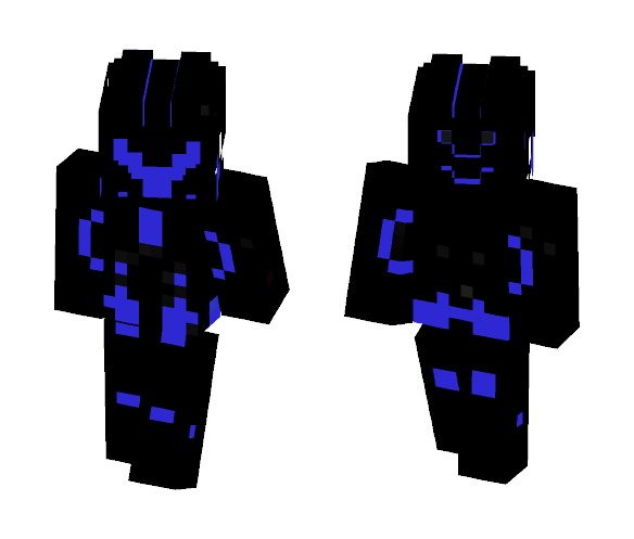 High Tech Suit (Blue Edition) - Male Minecraft Skins - image 1