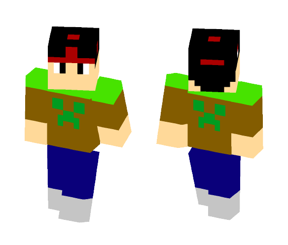 Cool boy - Boy Minecraft Skins - image 1