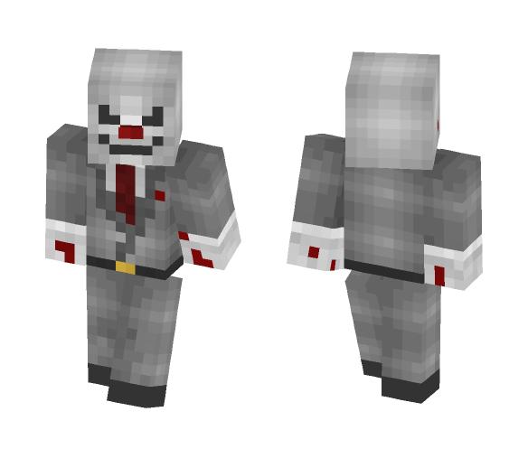 Killer Clown - Male Minecraft Skins - image 1