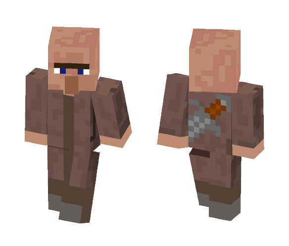 Guard-Villager - Male Minecraft Skins - image 1
