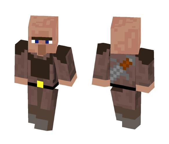 Warrior-Villager - Male Minecraft Skins - image 1