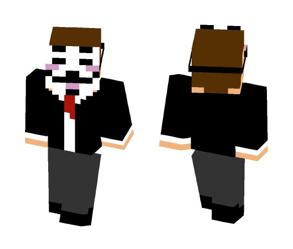 Anoynomous - Male Minecraft Skins - image 1