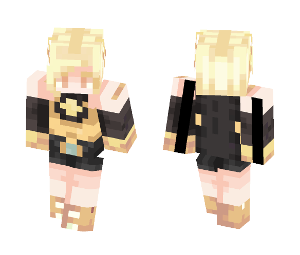 Amber | Steven universe gemsona - Interchangeable Minecraft Skins - image 1
