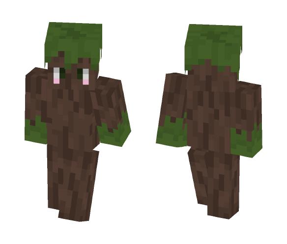 Kawaiiiii Tree I guess ¯_(ツ)_/¯ - Kawaii Minecraft Skins - image 1
